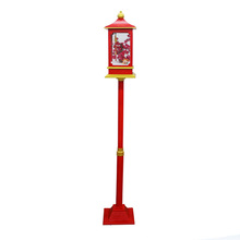 Chinese New Year/Christmas Shop Decoration Snowy Music Street Lamp/Light