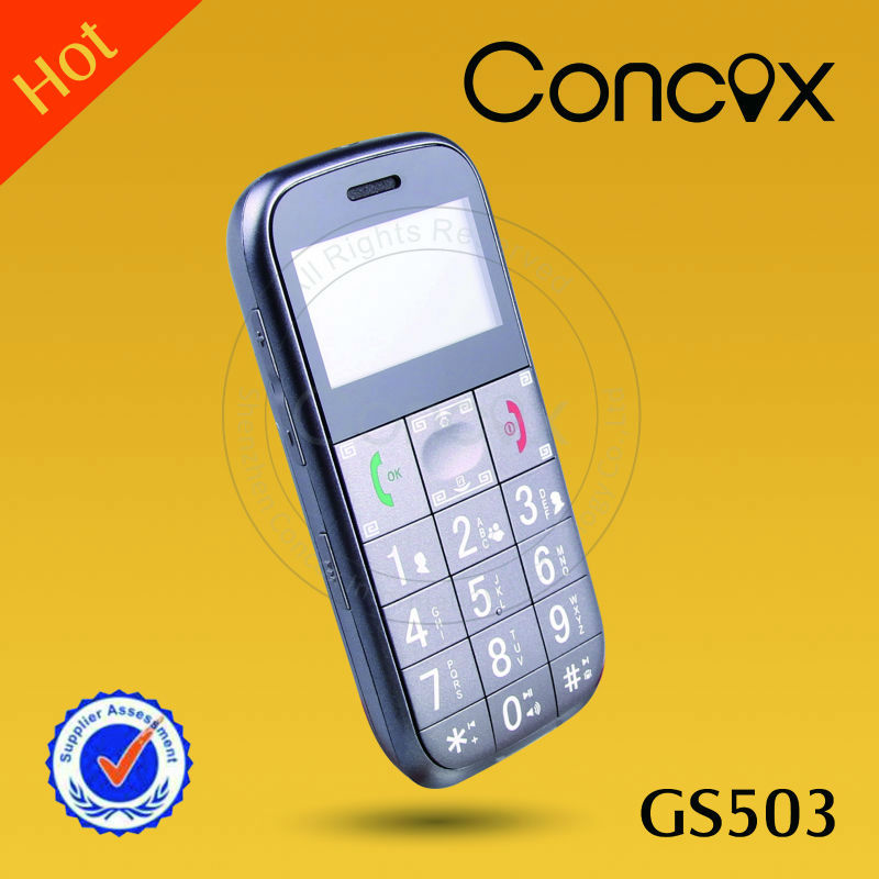 Concox Real-time tracking gps elderly mobile GS503