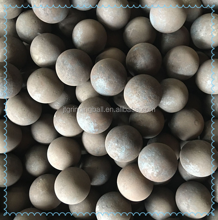 Heat treated forged steel ball