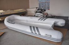 Liya affordable yachts 4.2m to 5m inflatable rib black boat