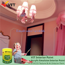Acrylic Main Raw Material and Liquid Coating State Abbondanza Chalk Paint Decorative Wall Interior