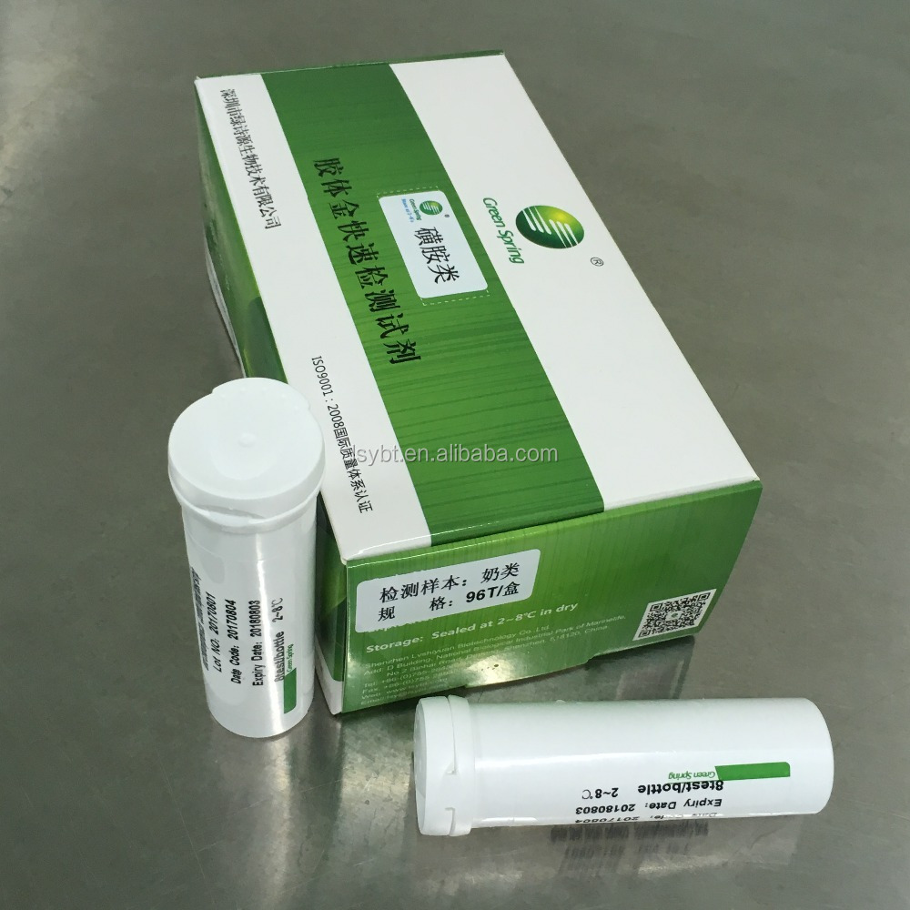 LSY-20082 Beta-lactam and tetracyclines combo rapid test kit for milk