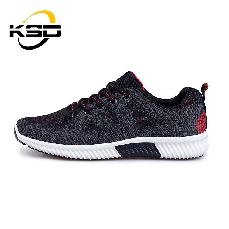 2017 Outdoor Shoes Men Sport Shoes Stock Flyknit Mens Running Shoes