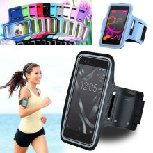 Fashion Accesories Unisex Outdoor Waterproof Anti Slip Sports Reflective Armband Phone Case