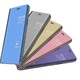 For iPhone XS Max Kickstand Flip Leather Phone Case Newest For iPhone XS Max Stand Flip Mirror Leather Phone Case