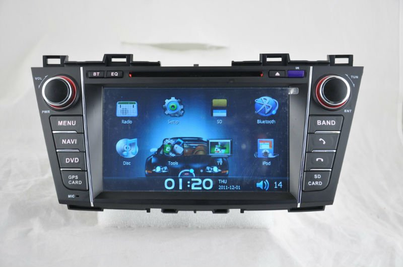 WITSON Mazada 5 dvd navigation with SD card for Music and Movie