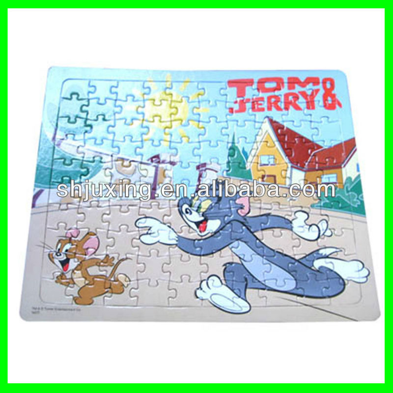 Tom and jerry Paper Puzzle