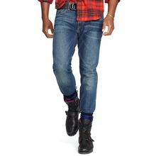 China factory wholesale stone wash men pants biker jeans
