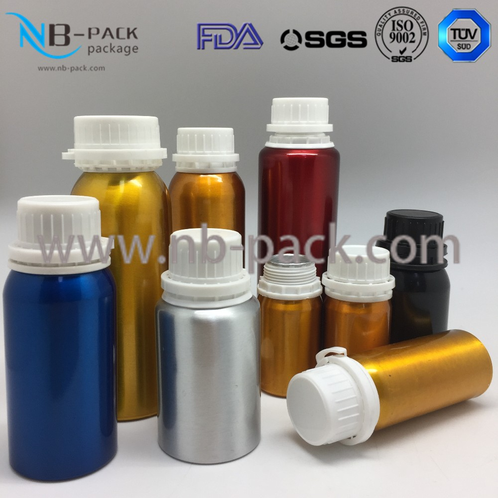 250ml aluminum fuel oil / engine oil additive bottle