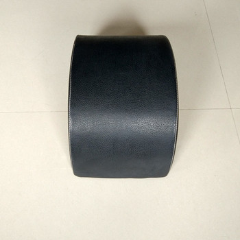 GYM Polyurethane Foam Filled Cushion Round Cushion With Wood Panel on the back
