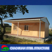 Low cost light steel structure modular prefabricated shipping container house plans on sale