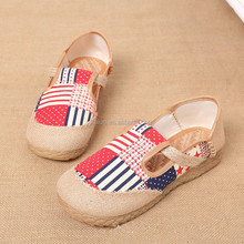 kL-SH-004 Wholesale Toddler Girls Shoes Bow Knot Cute Baby Girls Shoes for Summer