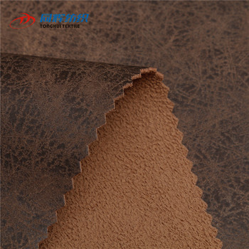 Wholesale Anti-Mildew printed Hot Stamping Faux Leather Upholstery fabric material for sofa set Made In China Factory