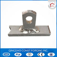 Lifting ring clutch for sandwich panel erection anchor for construction