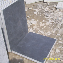 24x24 flamed grey natural bluestone tile and slab