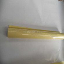 UV resistant glossy 3D self adhesive plastic PVC cold laminating film
