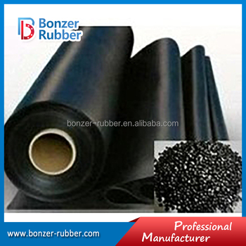 Xuancheng industrial fabric backed SBR rubber sheet rolls