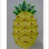 Inflatable Pool Toys Summer Pineapple Air Mattress Swim RING Pool Float Raft