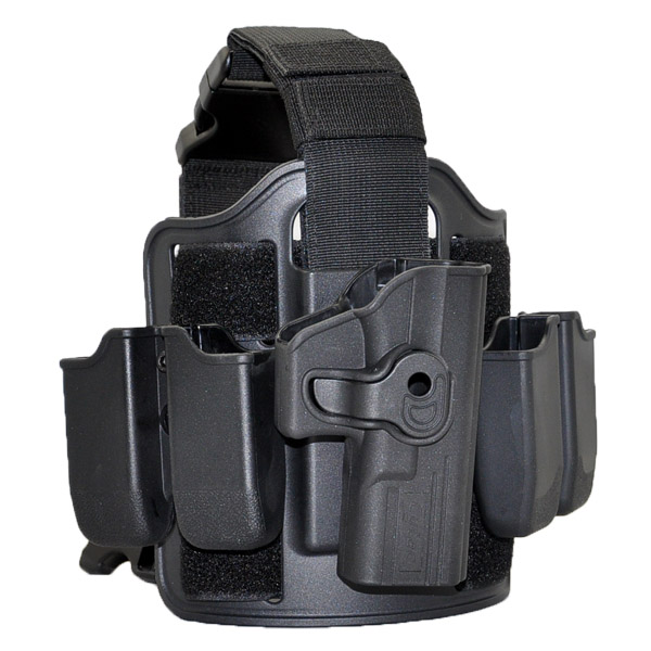 Promotion!Police Drop Leg Platform Fits Cytac holsters and magzine pouch