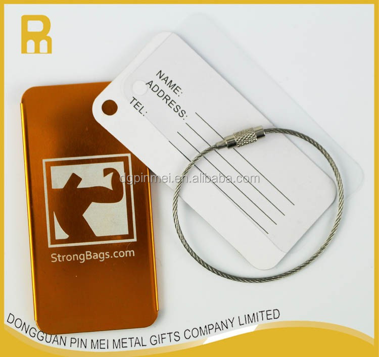 2017 custom logo luggage tag airline baggage tags with pvc card