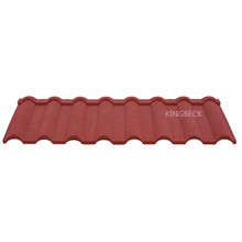 New design sand coated steel roof tiles indonesia market