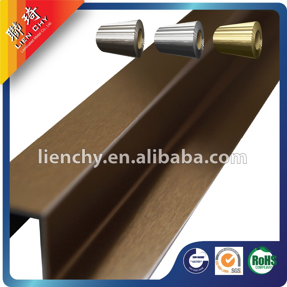 Lienchy Anti-fingerprint TA058 Rose Gold stainless steel sheet for Home Application