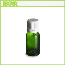 High Quality Vials Wholesale 10m Tamper Resistant Cap Green Glass Dram Vials Diffusing Perfume, Essential Oil, Vapor