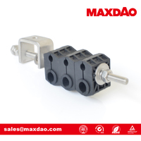 7/8 inch coaxial cable saddle pipe clamp