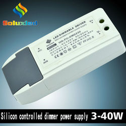 LED dimmable driver constant current 30-40w with high PFC