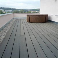 135x25x2900mm frstech wpc decking concrete wall coating / geo synthetic clay liner waterproof particles / fleeceback rubber
