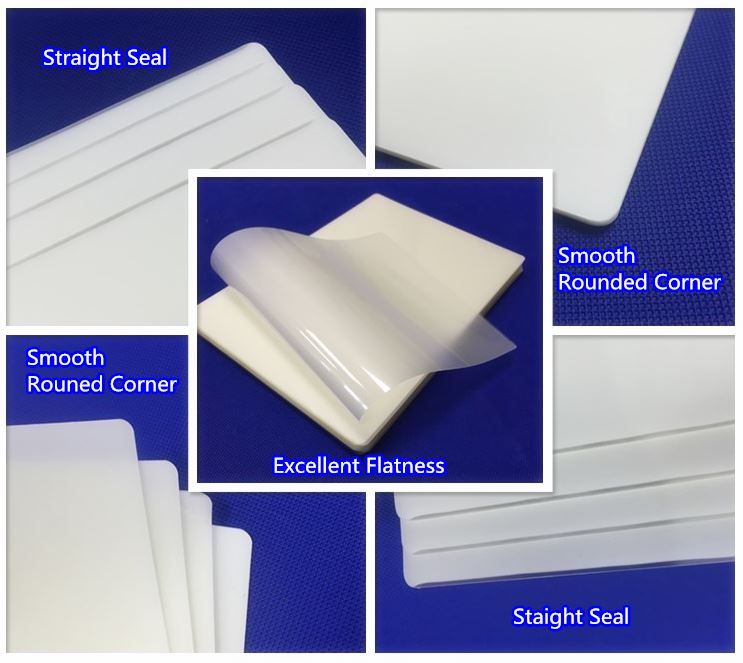 Economic and Efficient plastic laminate film mylar pet and eva of Good Seals