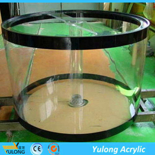 Customized Clear PMMA acrylic for fish tank