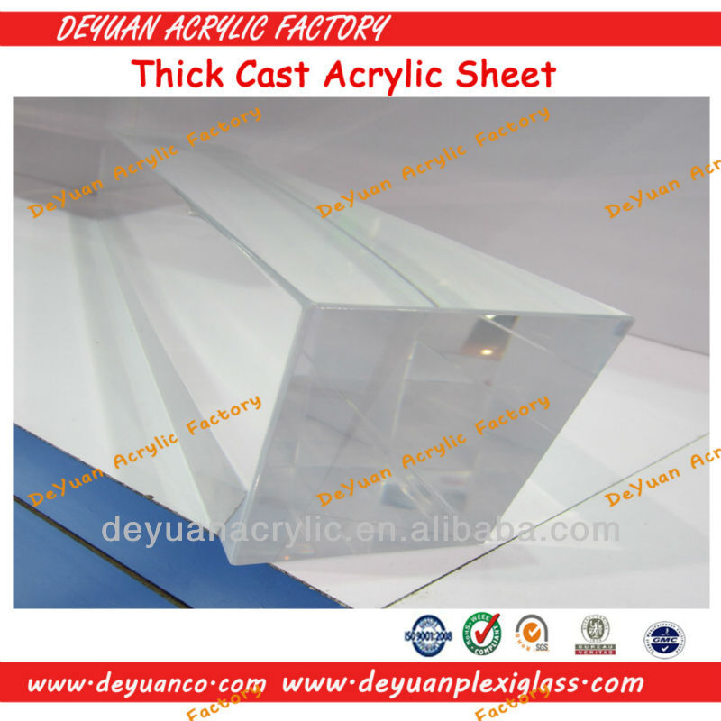 Custom high quality acrylic sheet 6mm plastic glass sheet