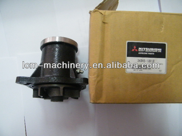 Water pump of Mitsubishi engine S4K/S6K Gnuine parts used in KOBELCO excavator