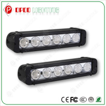 "Single Row High Quality 6000K Pure White CE RoHS IP67 10.9"" 60W CREE Aurora LED Light Bar"