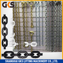 High Strength Grade 80 lifting metal steel chain/hardened forged alloyed steel lifting chain