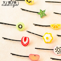 high -grade fruit french barrette hair clips wholesale