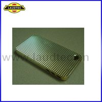 Electroplate Hard Case Back Cover for Apple iPhone 4 4G