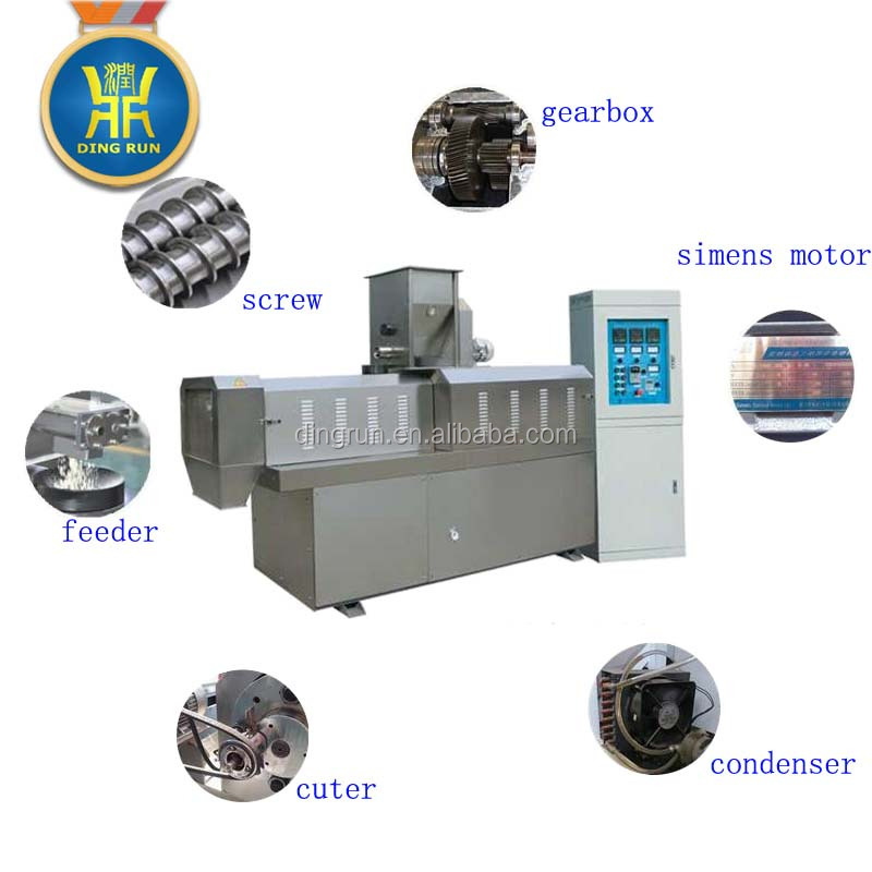 Salad & Rice Crust Food Rice Flakes Processing line in Dingrun Machinery