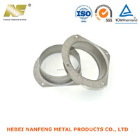 OEM high quality circle square stamping parts with metal plate make
