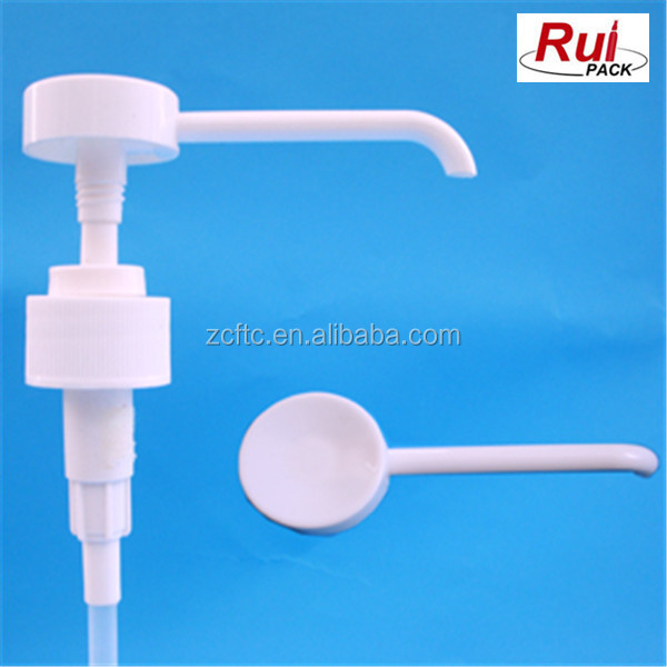 Long nozzle Lotion dispenser , Gel pump for body soap , plastic pump