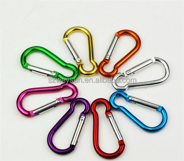 4cm aluminum carabiner on the 4th Trumpet fast gourd hanging without a lock buckle hanging everyday use non-professional