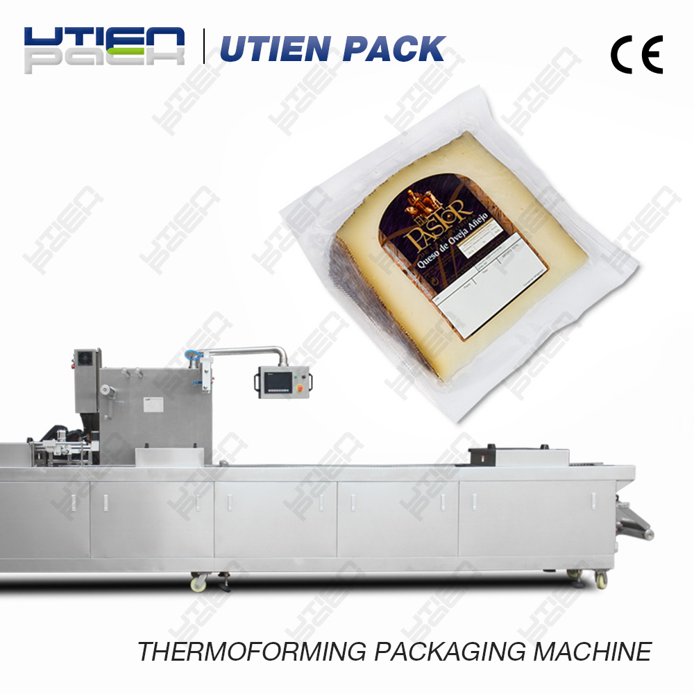 Tray Cheese Packaging Machine