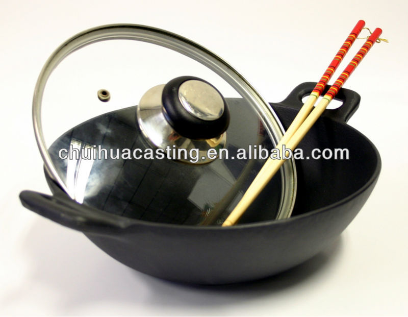 Cast Iron Wok/Cookware/Chinese Pan
