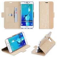 New Design With Card Slot Protective Fliip Phone Case For Samsung S6 Edge