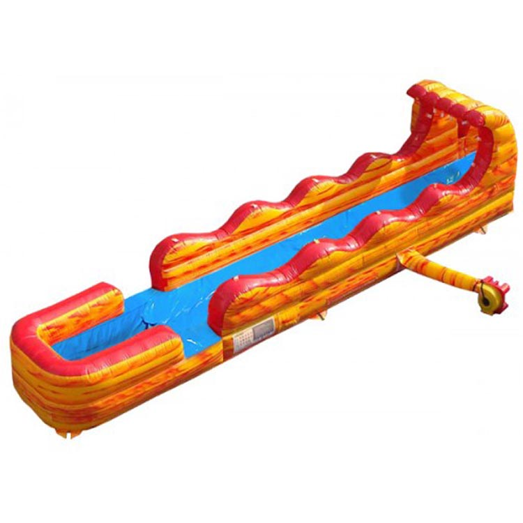hot sale inflatable 17ft volcano water slide for adult and kids
