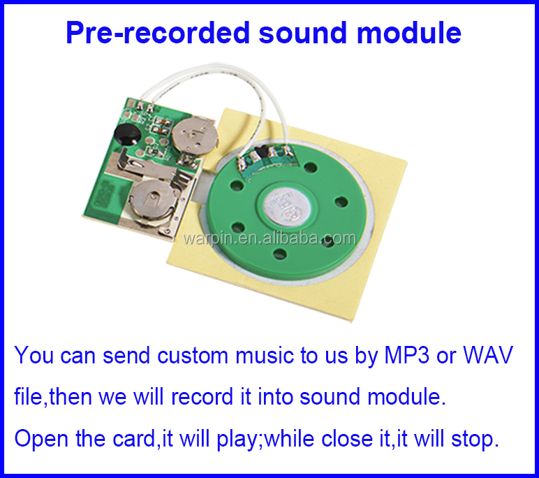 Factory supply new small recordable sound chip