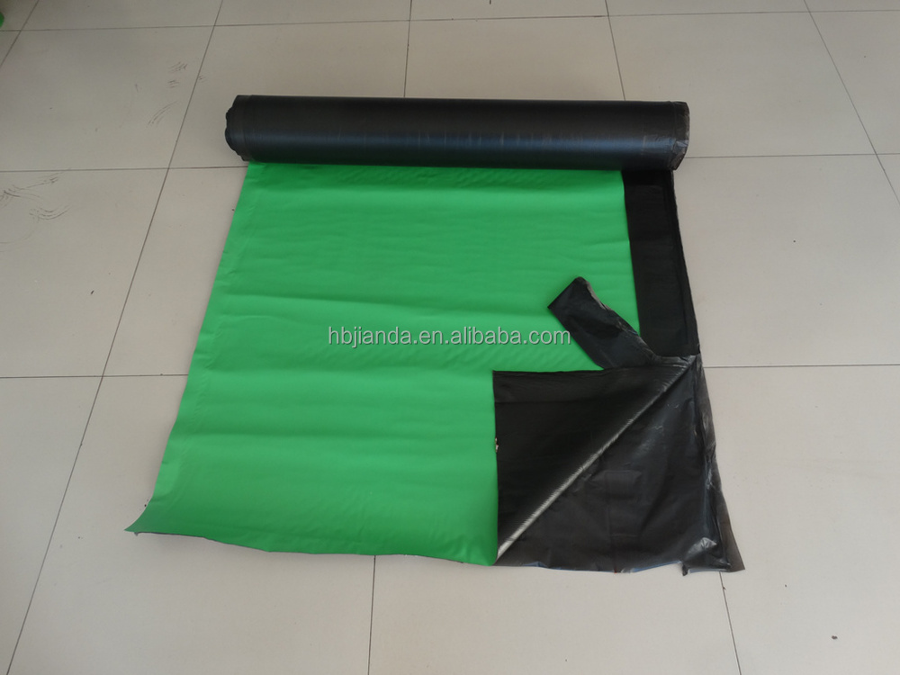 Corrugated rubber self-adhesive bitumen waterproofing products for deck