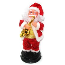 best selling electric santa claus toy high end christmas singing dolls decorations