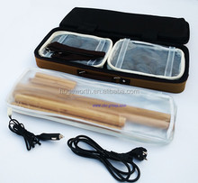 Rechargable Electronic bamboo massage sticks/Top Quality fit massager/hot stone massage